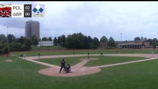 GB Baseball U15 Live Stream : GBR vs POL Final