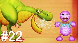 Kick The Buddy - Gameplay Walkthrough Part 22 - New Jurassic Dinosaurs T- REX