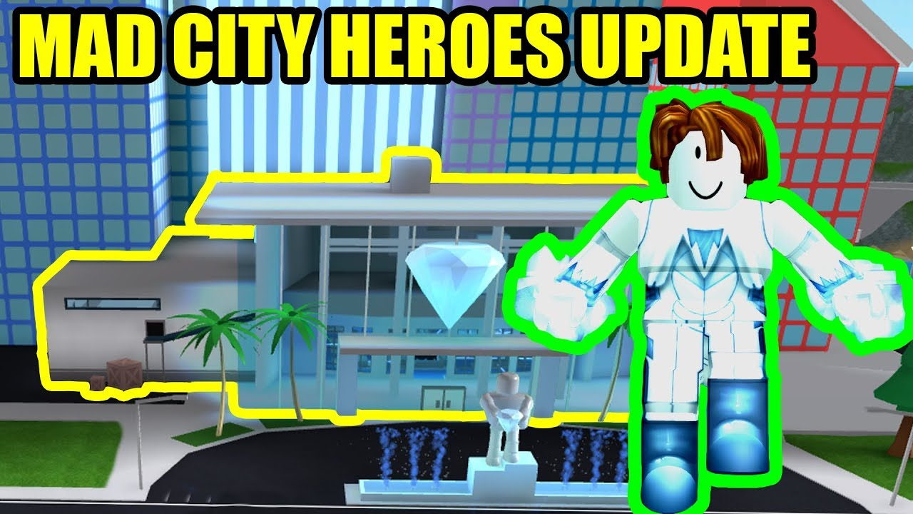 NEW HEROES and JEWELRY STORE UPDATE   Roblox Mad City ...