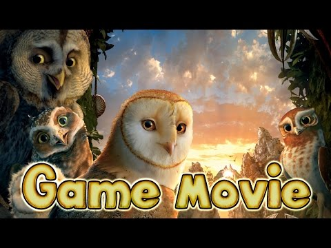Legend of the Guardians: The Owls of Ga'Hoole All Cutscenes | Full Game Movie (PS3, X360)