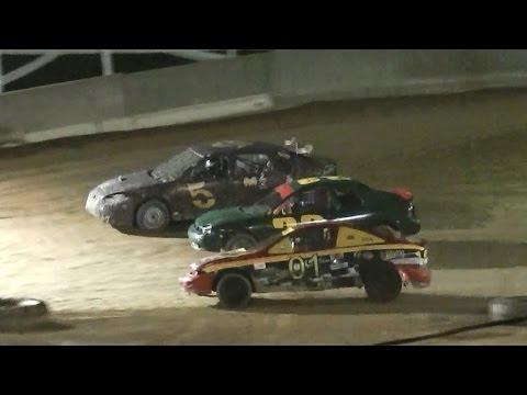 Mini Stock Mechanic Race | Old Bradford Speedway | 9-11-16