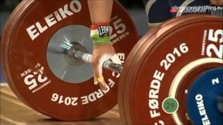2016   Asian and European Weightlifting Best Lifts, Men 56 kg