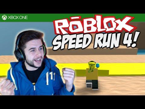 ★ROBLOX SPEED RUN 4!!! - PRO PARKOUR SKILLS - Part 1 [XBOX ONE]★