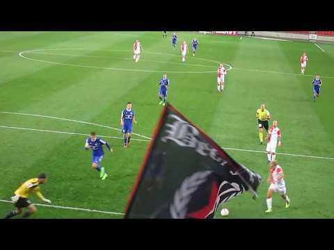 SK Slavia Praha – FK Fotbal Třinec  20.09.2017  gol na   5-1 TOMÁŠ NECID