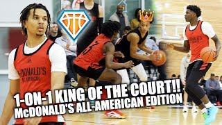 1-ON-1 KING OF THE COURT Feat. Nico, Tre Mann, Cole & Antman!! | McDonald's All-American Edition