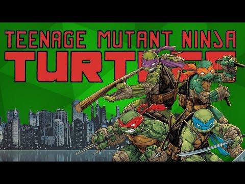 IDW's TMNT - The Definitive Ninja Turtles