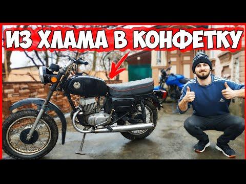 ВОСХОД 3М - ИЗ ХЛАМА в КОНФЕТКУ! ВОССТАНОВЛЕНИЕ Мотоцикла ВОСХОД! [Часть 2]