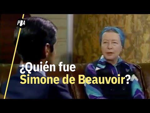 La vida de Simone De Beauvoir