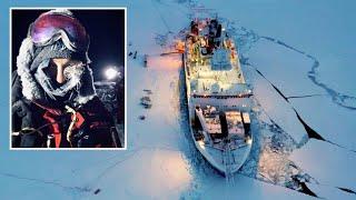 """Größte Arktis-Expedition der Geschichte: """"Es ist wie wenn man am Abgrund steht"""""""