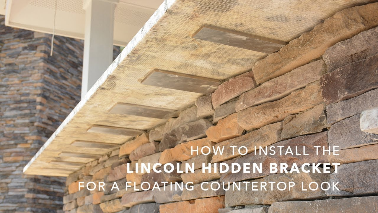 How To Install The Lincoln Top Plate Hidden Bracket For A Floating