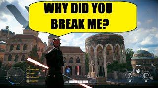 Star Wars Battlefront 2 - DARTH MAUL IS NOT WORKING! XD | Maul Killstreak!