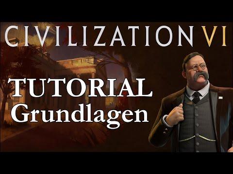 Civilization VI Tutorial / Crashkurs 01 - Grundlagen und erste Züge (Deutsch / Let's Play)