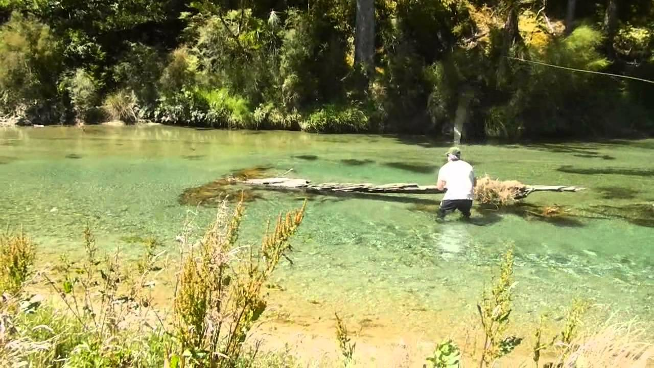 Fly fishing new zealand youtube for New zealand fly fishing