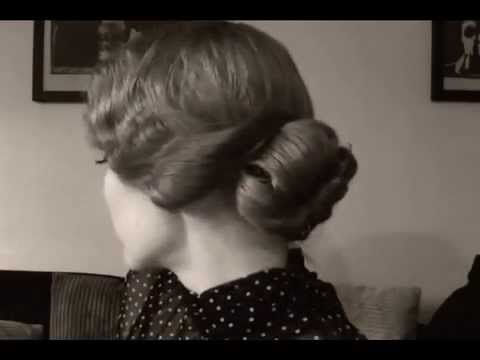 1920 S Inspired Hairstyle Soft Finger Waves With Bangs