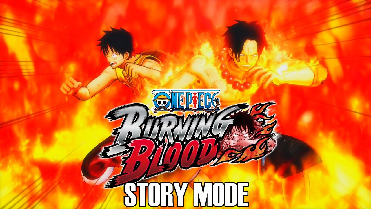 One Piece Burning Blood Full Movie: All Story Mode Cutscenes with English  Subtitles (1080p 60 FPS)