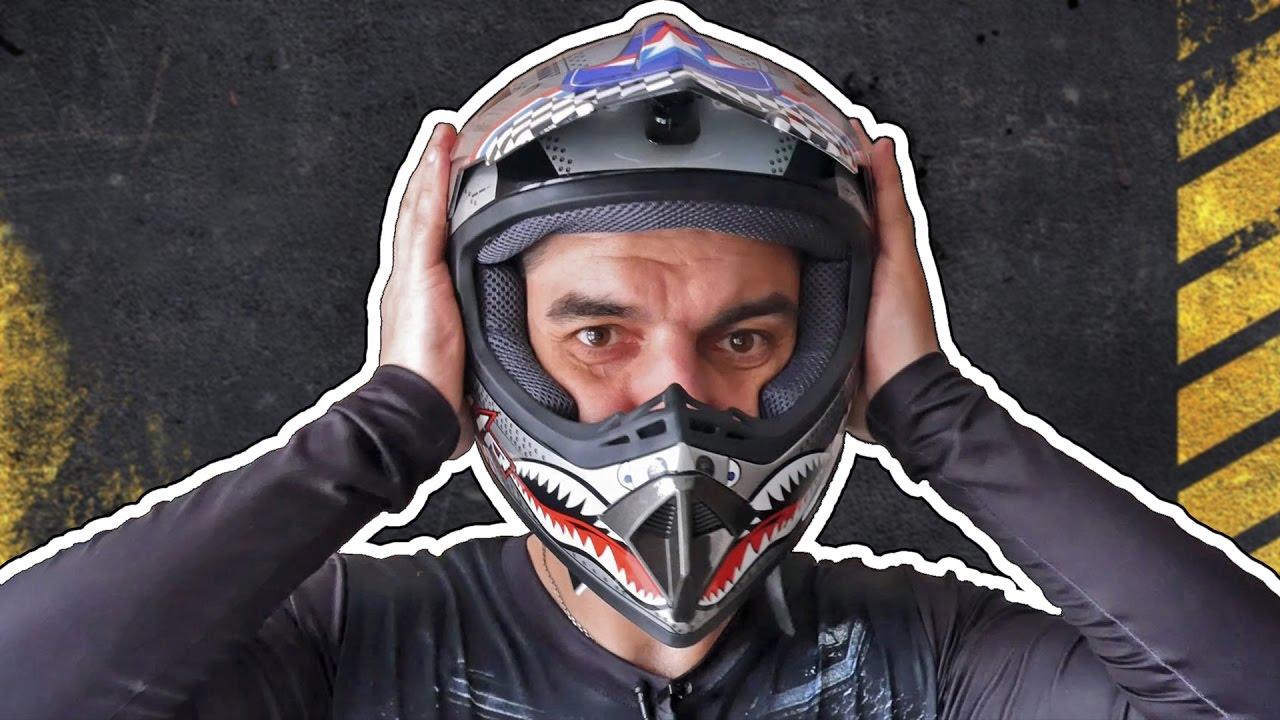 Шлем Титан CKX TITAN первые отзывы - YouTube