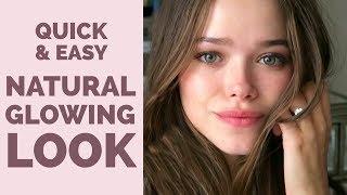 5 Min Natural Glowing Look | Charlotte Tilbury Challenge | Valeria Lipovetsky
