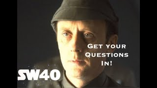 I'm going to 'SW40' - get your questions in for Star Wars actors!