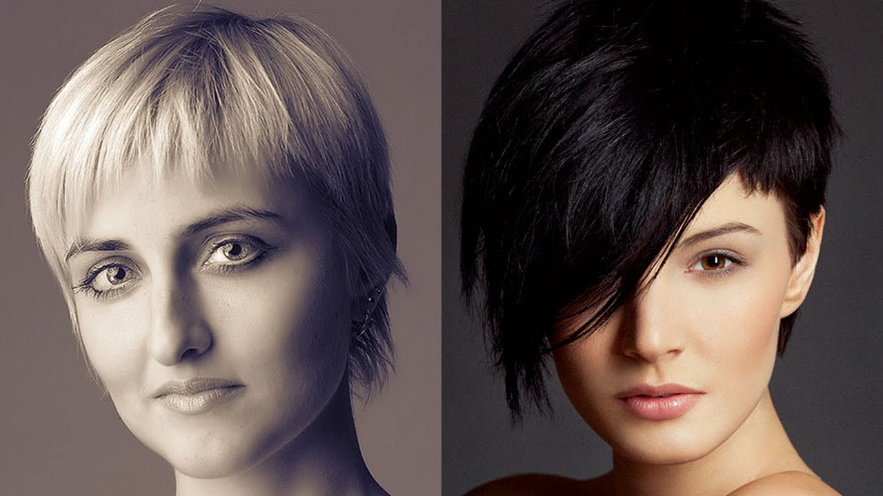 30 Beautiful Short Hairstyles For Fine Hair Youtube