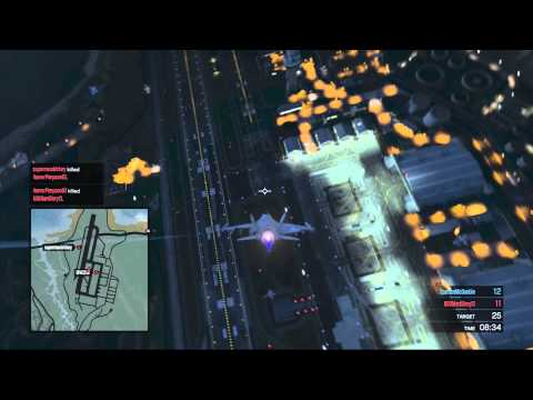 Grand Theft Auto V   Jet deat match with BAWS