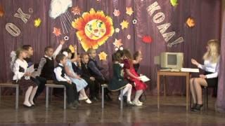 """Сценка """"Урок информатики"""" в исполнении группы №1"""