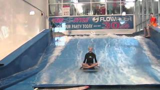 Maddy - Boogie Board Tricks - Flowrider