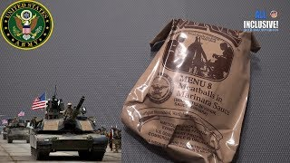 ИРП сухпай армии США меню 8 MRE USA Army MENU 8 Meatballs in Marinara Sauce.