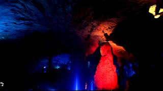 Guilin's Reed Flute cave show