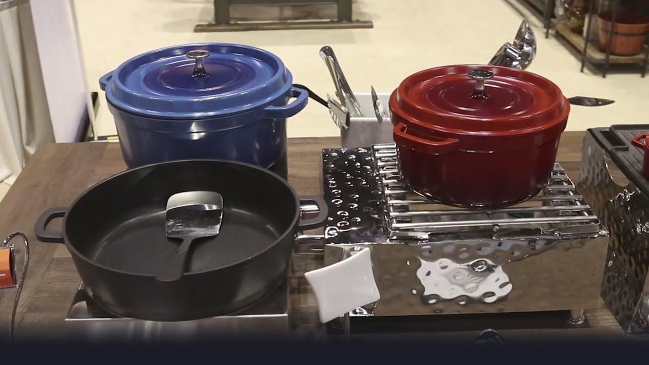 Enamel Cast Iron Vs Induction Ready Aluminum Cookware