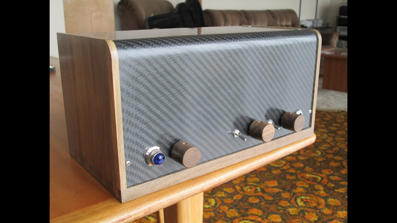 Small Tube Amp Build, Start To Finish - YouTube