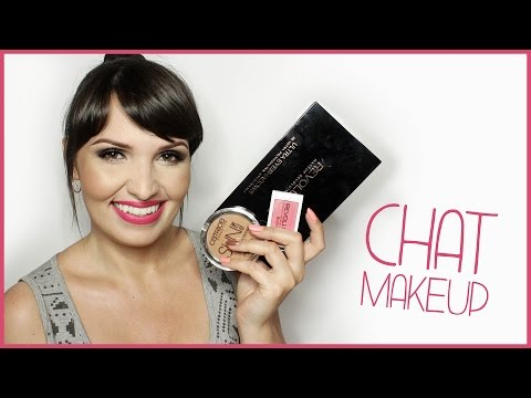 ✿ CHAT MAKEUP | Makeup Revolution, Catrice, Art Deco + ROZDANIE ✿