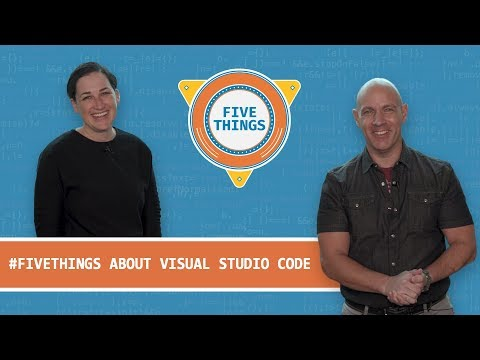 #FiveThings About Visual Studio Code Languages, Extension Sharing, And Live Share