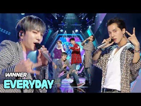 HOT WINNER  EVERYDAY, 위너  에브리데이 Music core 20180519