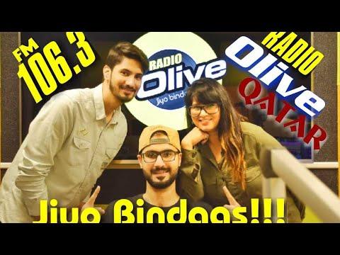 Jiyoo Bindass 106.3 radio Olive | Qatar