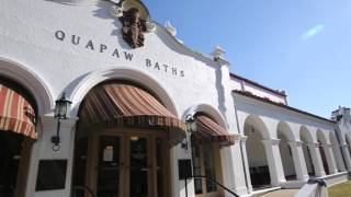 What to Know About Bathhouse Row in Hot Springs, Arkansas