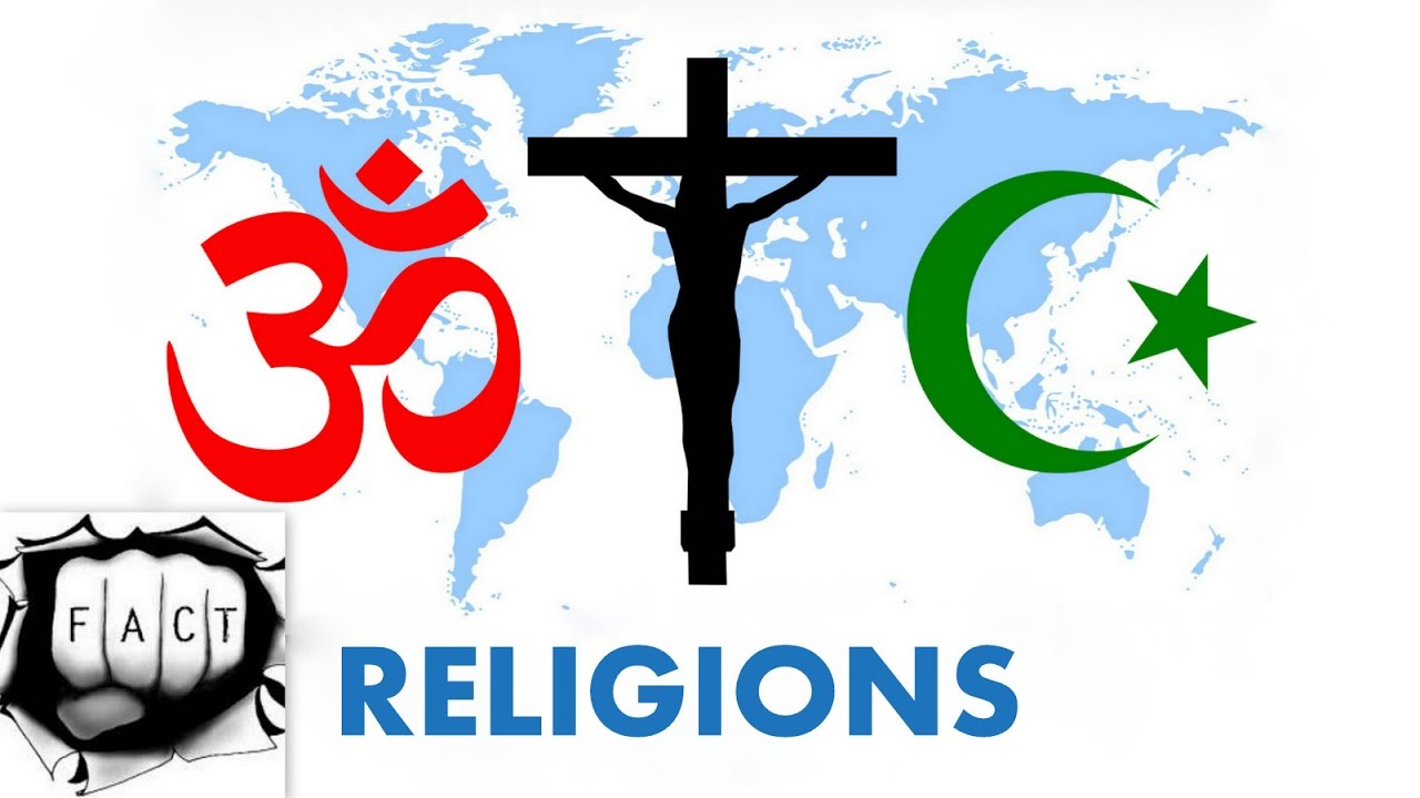 Top Religions By Population YouTube - Major world religions by population