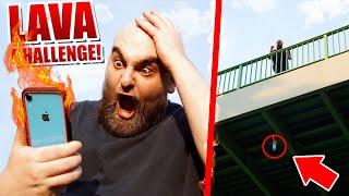 Der GEGENSTAND ist LAVA Challenge! 🔥 (nicht nachmachen)