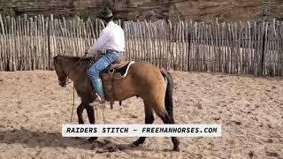 SOLD - Hip #20 - Raiders Stitch