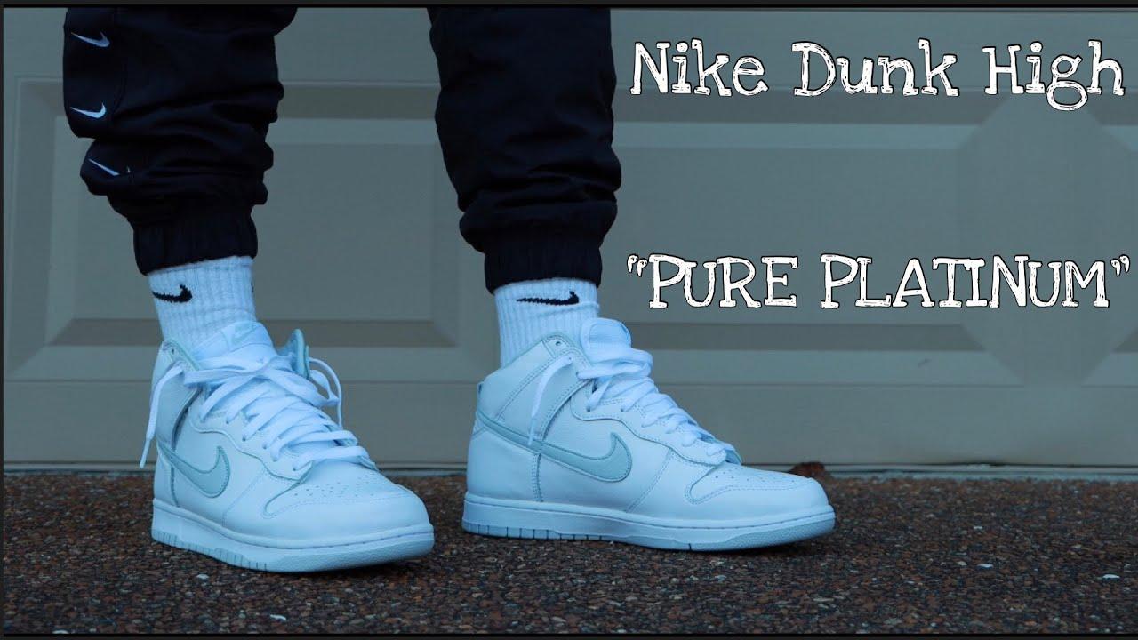 Dunk High SP 'Pure Platinum'