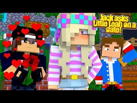 Minecraft Crush - JACK HAS A CRUSH ON LITTLE LEAH!!!