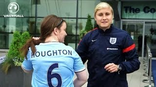 INSIDE THE CAMP: Houghton, Scott, Greenwood and Brown-Finnis transition from club duty to England