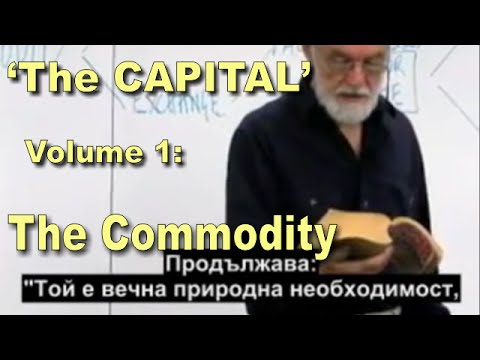 Karl Marx, 'CAPITAL', Volume 1: The COMMODITY