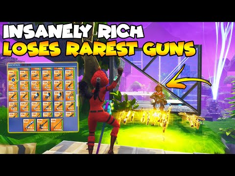 Insanely Rich Scammer Loses Rarest Inventory! 💯😱 (Scammer Gets Scammed) Fortnite Save The World