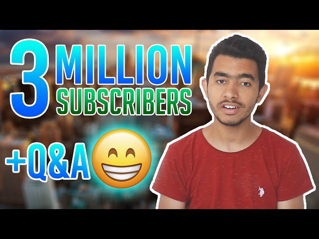 3 Million Subscribers Special Q&A