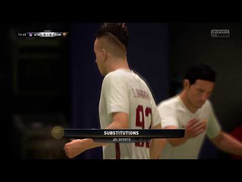FIFA 18   Atletico Madrid vs Roma   Champions League Group Stage 2017/18   Full Gameplay PS4