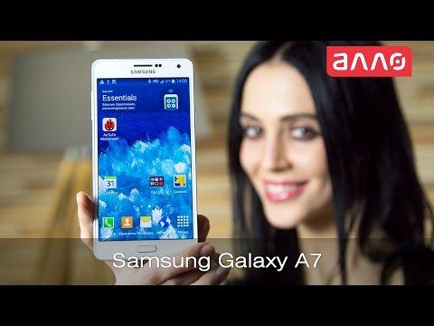 Видео-обзор смартфона Samsung Galaxy A7