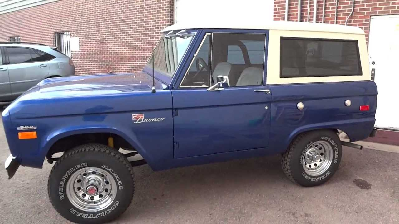 rare 1970 ford bronco sport 4x4 restored to original. Black Bedroom Furniture Sets. Home Design Ideas