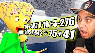 I Had A Math Battle With Big Brain Baldi...