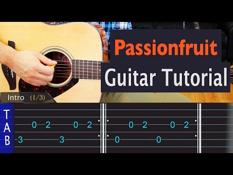 Passionfruit - Drake - Guitar Lesson
