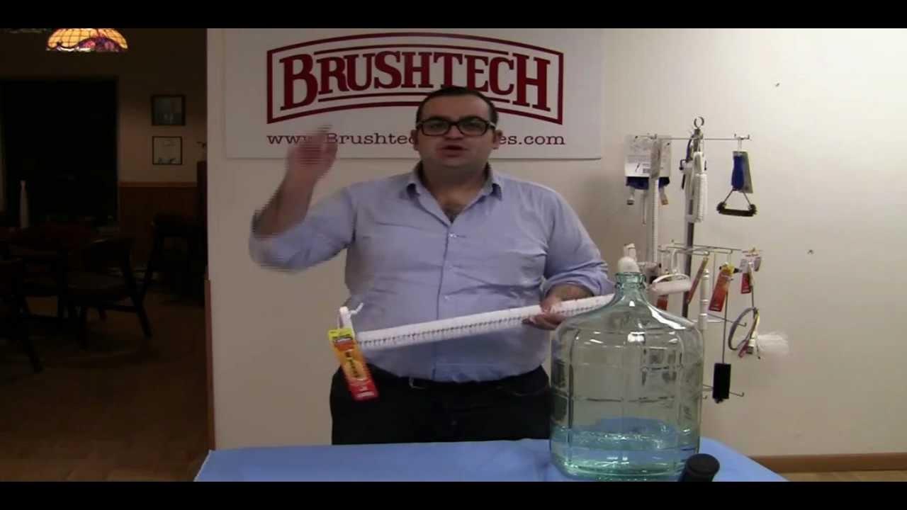 Brushtech Inc B217c 5 Gallon Carboy Washing Brush